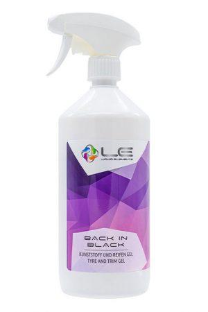 Liquid Elements Back in Black Reifen- und Kunststoffpflege 1L